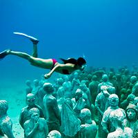 Cancun Underwater Sculpture