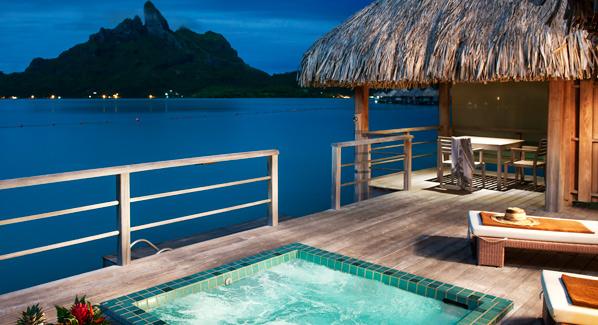 St Regis Bora Bora Private Whirlpool Villa