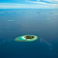 Maldives Park Hyatt Aerial