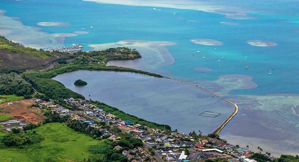 Heeia Oahu Fish Pond