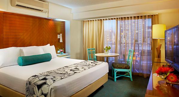 Acqua Waikiki Hotel Room