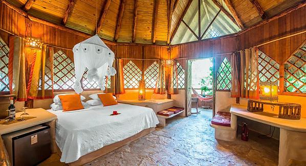 Dominican Republic Cabarete Natural Cabana Interior