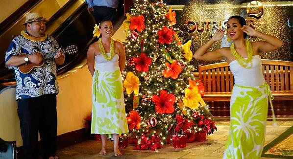 Oahu Outrigger Aloha Christmas