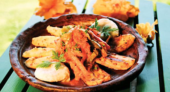 St. Kitts Holiday Dish
