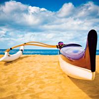 Oahu Outrigger Canoe