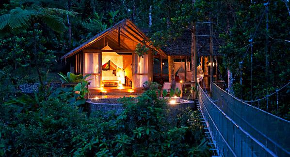 Costa Rica Limon Pacuare Lodge