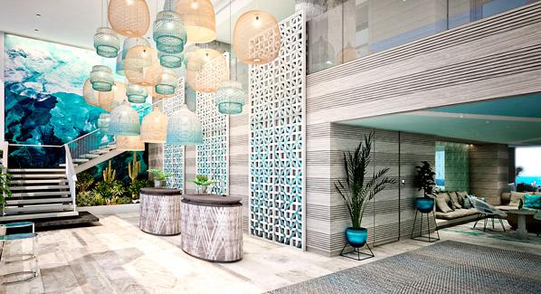 Serafina Hotel Lobby