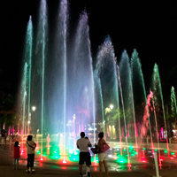 Cozumel Benito Fountain